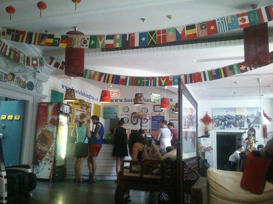 Shanghai City Central Youth hostel: lobby