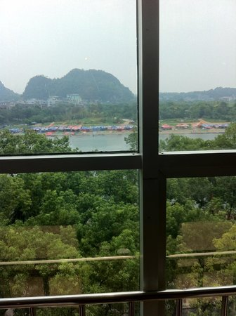 Guilin Homeland Riverview Hotel : its a family camp
