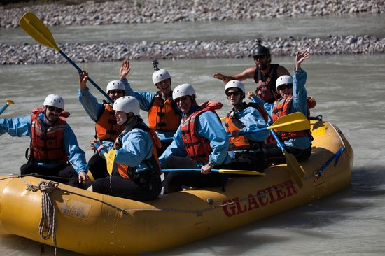 Glacier Raft Company - Day Tours: FLOAT, SPLASH, PADDLE,HOLD ON!