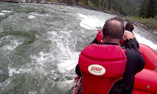Jackson Hole Whitewater : JHWhitewater Rafting - Sept 5, 2013