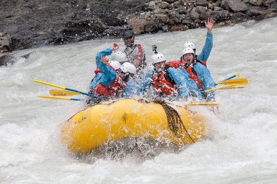 Glacier Raft Company - Day Tours: GETTING WET!