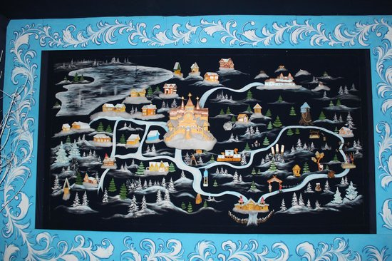 Ded Moroz Estate: Схема вотчины
