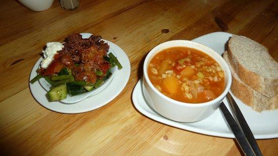 Hendersons Salad Table Restaurant: More soup