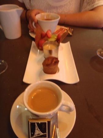 Le Bosquet: Espresso and Small Desserts