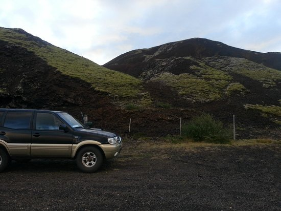 Grabrok Crater: Like ved vei nr 1