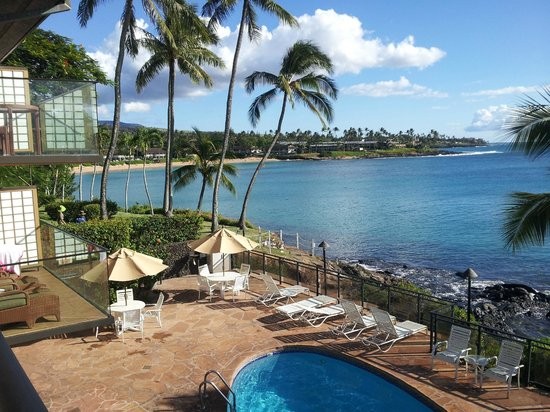 Napili Kai Beach Resort: balcony view