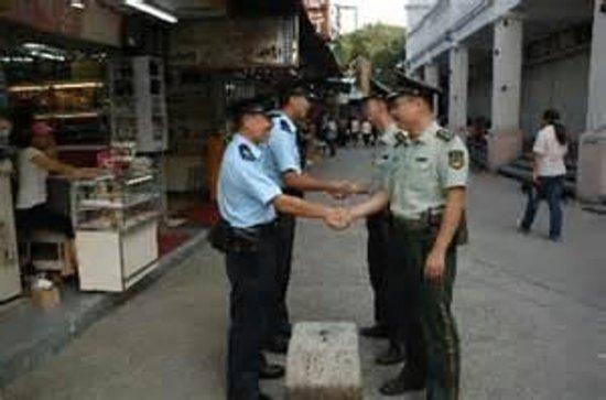 Lok Ma Chau : Brothers, nice to meet.