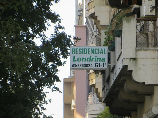 Residencial Londrina: easy to locate the hotel