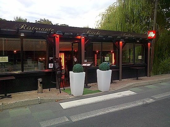 Ritchi Italian Ristorante & Lounge : La terrasse du Ritchi
