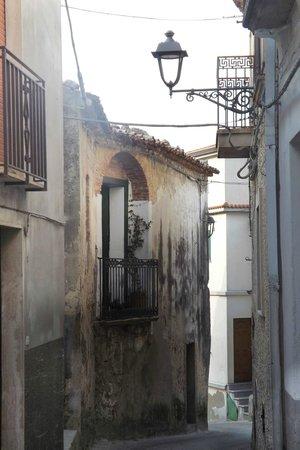 Centro storico, Caccuri: Via Buonasera