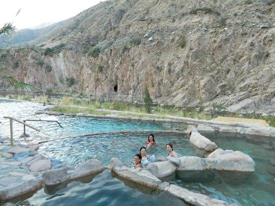 Hotel & Spa Termas Cacheuta: las termas con la montaña al lado