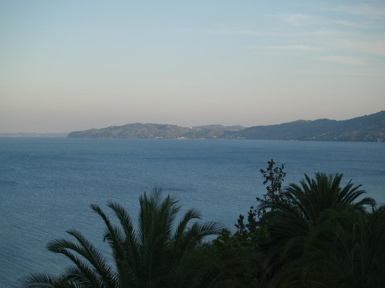 Corfu Village Hotel : View from Balcony, right/south aspect.