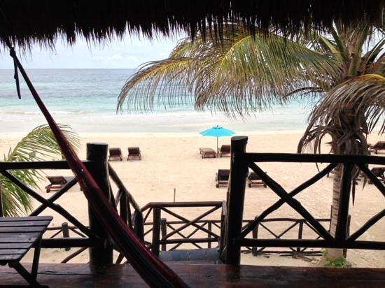 Azucar Hotel: another luminera deck view