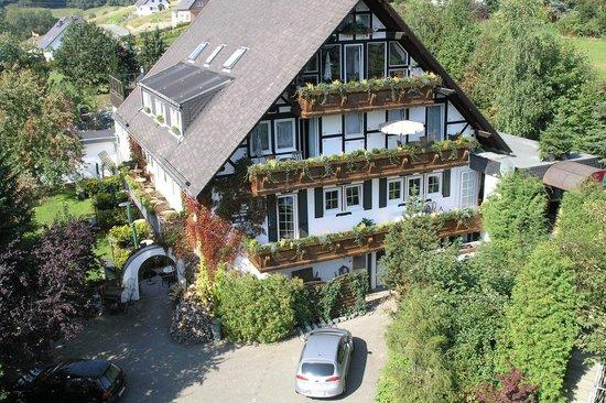 Landhotel Grimmeblick: Hotel im Front