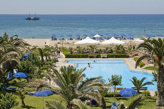 Marinos Beach Hotel Apartments: SEA VIEW
