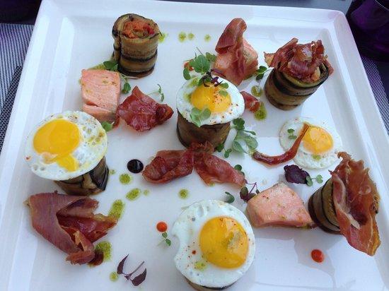 L'Exterieur : Nous avons adorés le plat et la déco ct délicieux