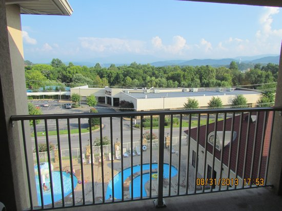 Music Road Resort Inn: Balcony