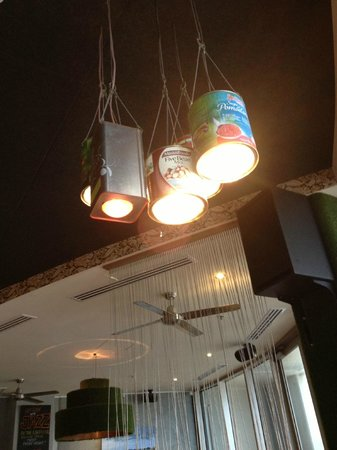 The Wild Fig : Lighting from old tins and car headlights
