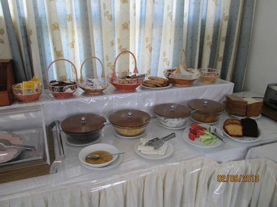 Anastasia Hotel: Breakfast selection