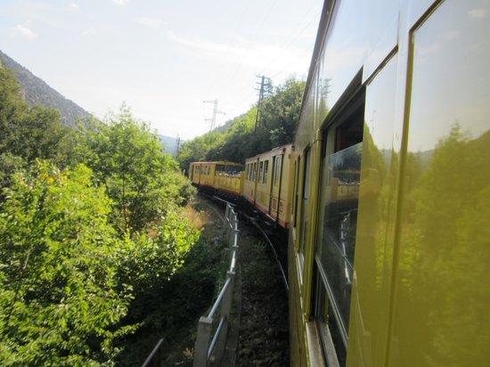 A l'Ombre du Fort : Het gele treintje