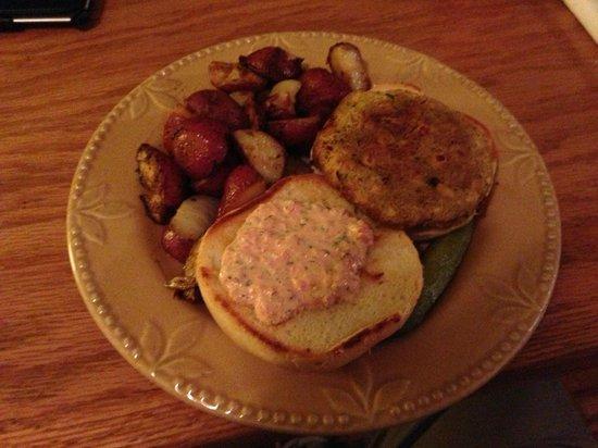 Sage Creek Grille: Chickpea burger