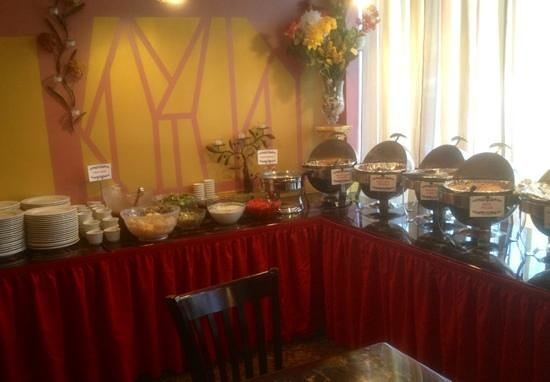 Lunch Buffet at The Red Pepper