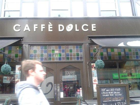 Cafe Dolce Menu Blackpool