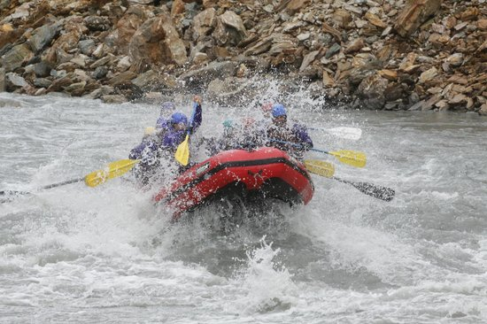 Denali Outdoor Center: We had a blast - great guide, great rapids!