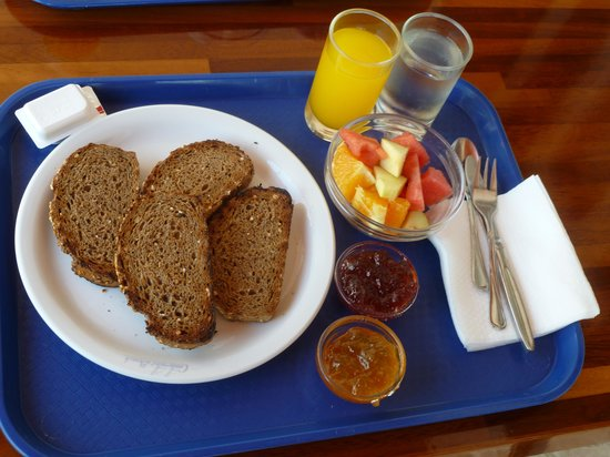 Contaratos beach : Vassoio per la colazione
