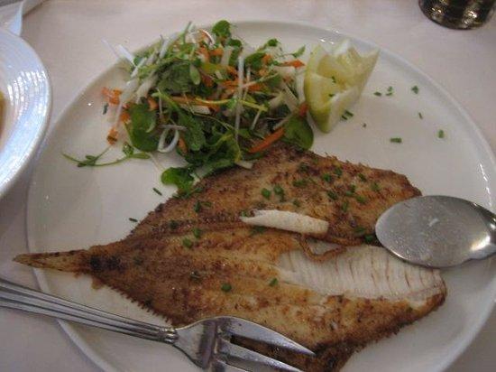 Lusitania : main dish - Fish