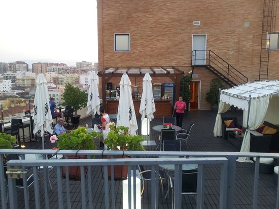 Terraza Picture Of Salles Hotel Malaga Centro Tripadvisor