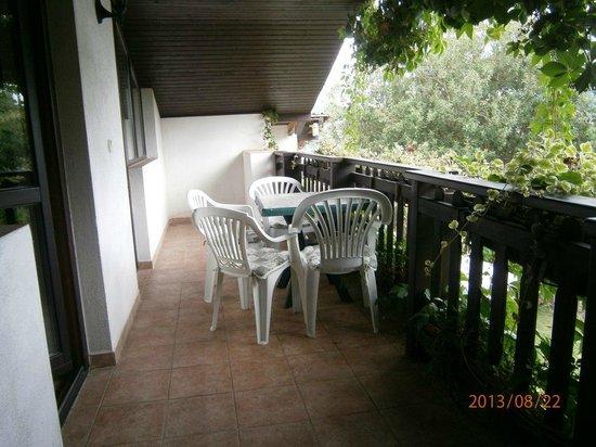 Penzion U Rechu : Notre balcon