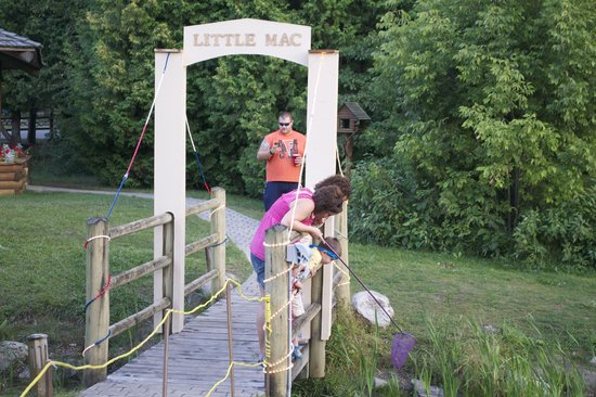 Petoskey KOA: Little Mac Bridge