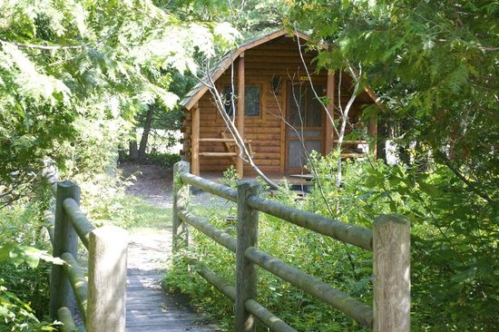 Petoskey KOA: Rustic Cabin