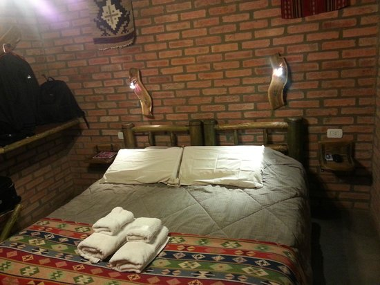 Cerro Del Valle Hotel Rustico: detalle de la habitación