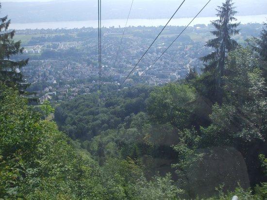 Felsenegg: View from Felenegg