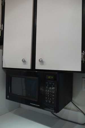 Avenue Suites Georgetown: microwave in kitchen