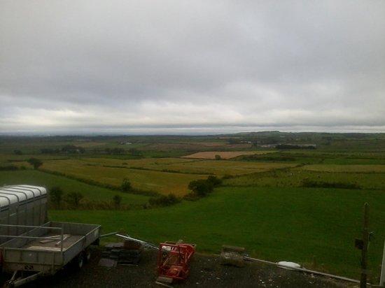 Lagavara Farm: View from my room.