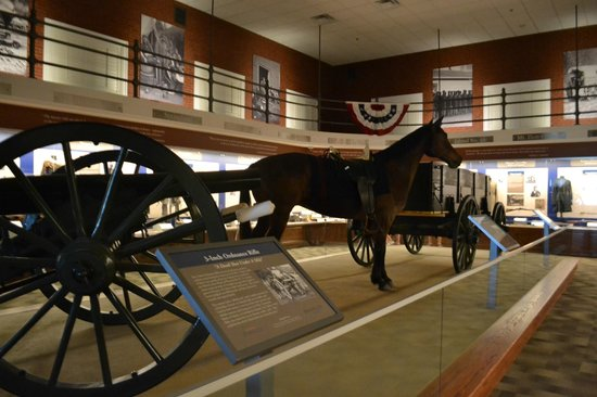 Missouri Civil War Museum: Main display room