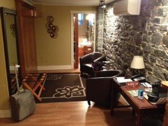 Hotel Acadia : superior room lounge