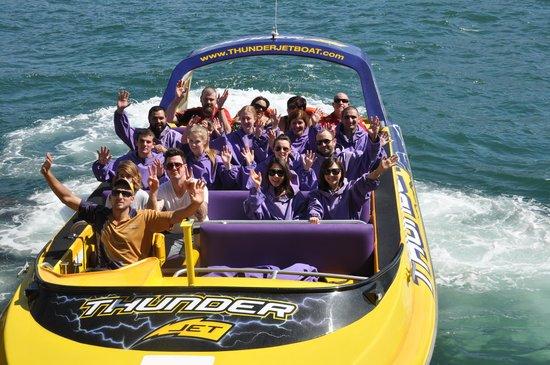 Thunder Jet Boat Sydney