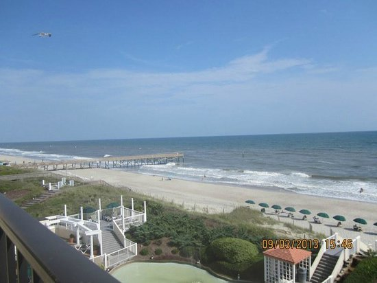 Pine Knoll Shores, NC: View from room 507
