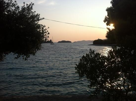 Konoba Duga: tramonto