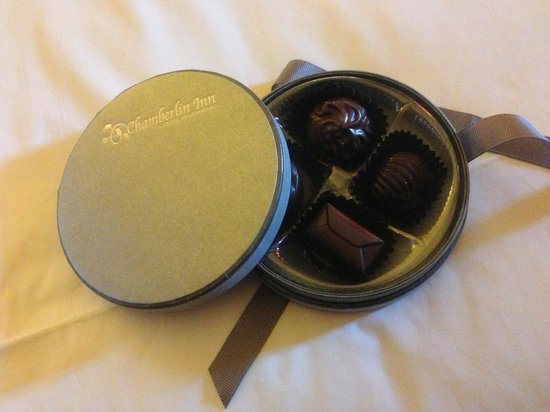 Chamberlin Inn : Complimentary Chocolates!
