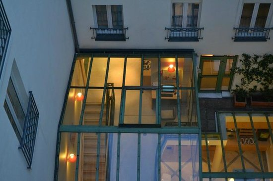 Ibis Paris Opera la Fayette: Quarto para vista interna agradável