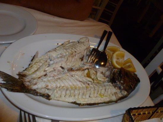 Vitsadakis: Pesce grigliato