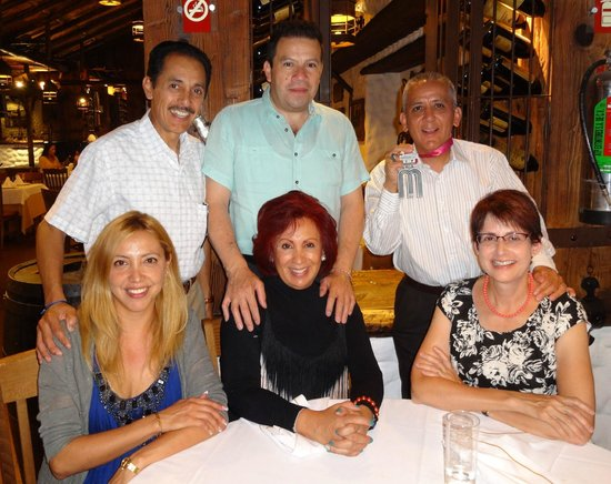 Rincon Argentino: (Seated) My cousin-in-law, cousin, and wife.  (Standing) My cousin, cousin-in-law, me and my med