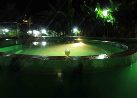 Paradise Hot Springs: View at night
