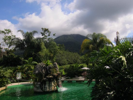 Paradise Hot Springs: View from the pools