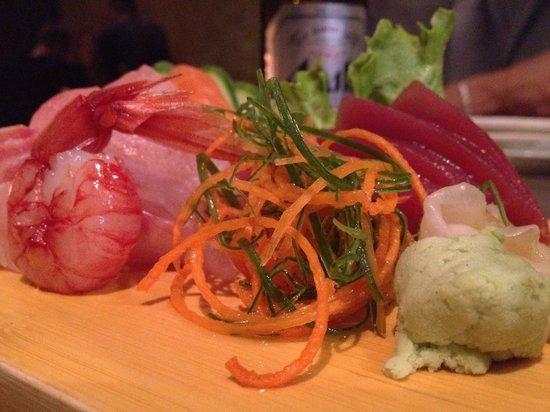 Ristorante Shun: Sashimi misto